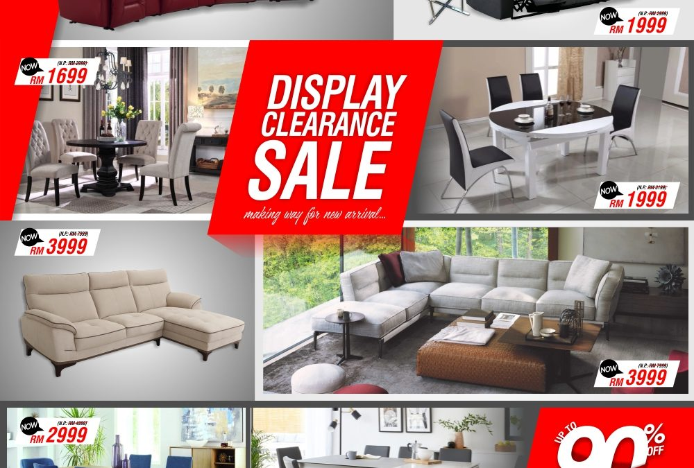 Display Item Clearance Sale